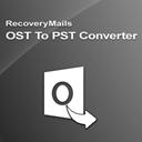RecoveryMails OST To PST Converter